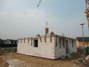 EG Decke betonieren 1
