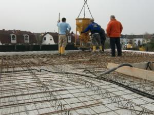 EG Decke betonieren 2